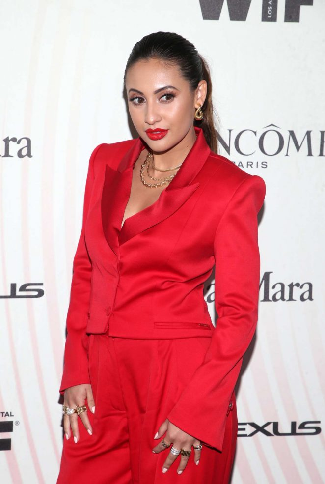 Francia Raisa - 2018 Women In Film Crystal and Lucy Awards in Los Angeles