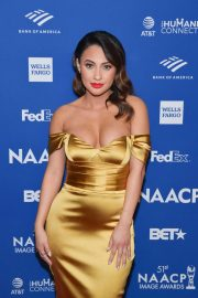 Francia Raisa - 2020 NAACP Image Awards non-televised Awards Dinner in Hollywood