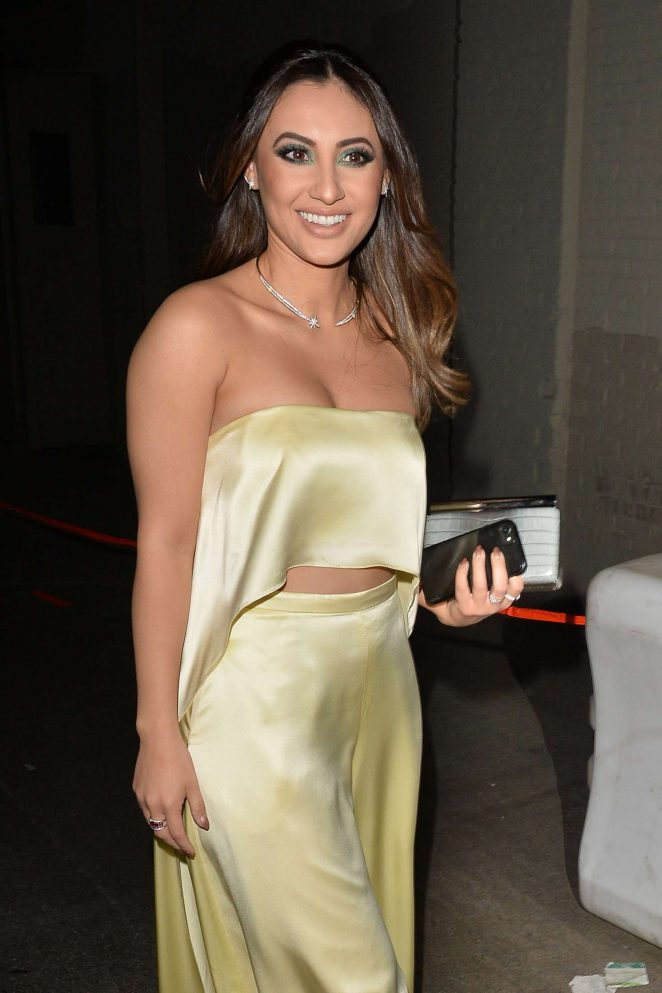 Francia Raisa - Arrives at Stella McCartney Show in Hollywood