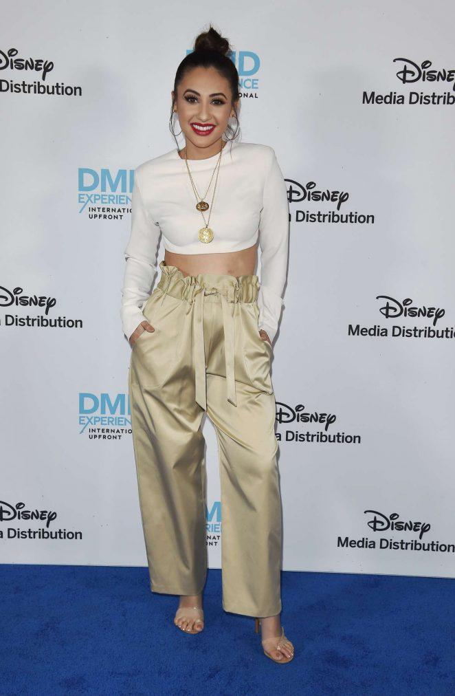 Francia Raisa - Disney ABC International Upfronts in Los Angeles adds