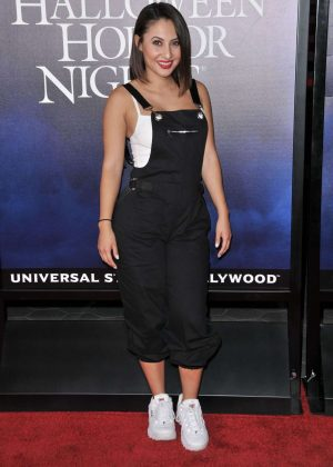 Francia Raisa - 'Halloween Horror Nights' Opening in Los Angeles
