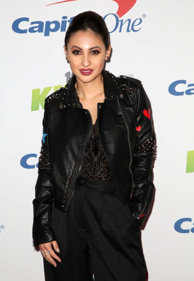 Francia Raisa - KIIS-FM Jingle Ball 2017 in Los Angeles