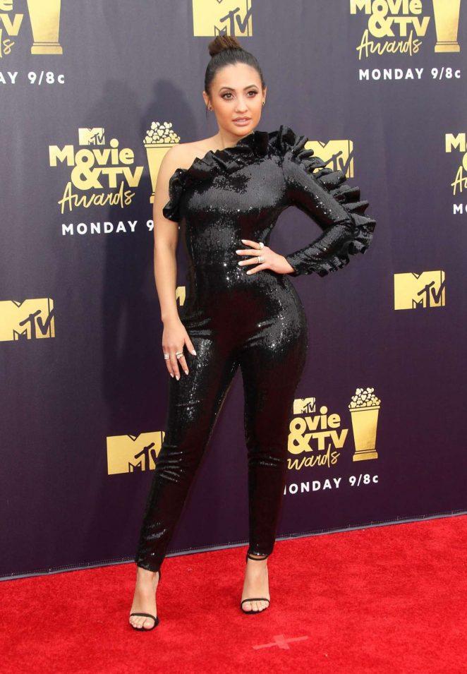 Francia Raisa - MTV Movie and TV Awards 2018 in Santa Monica