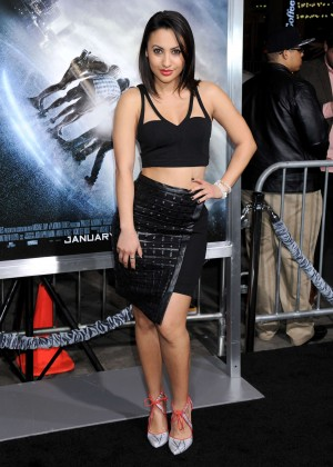 "Francia Raisa - ""Project Almanac"" Premiere in Hollywood"