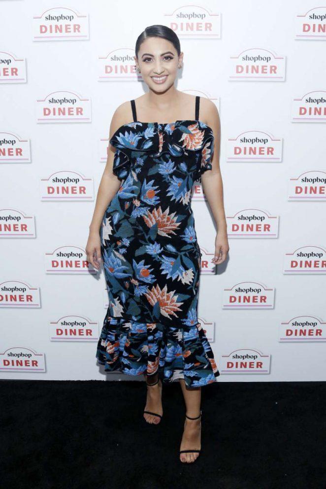 Francia Raisa - Shopbop Presents The Shopbop Diner in NYC