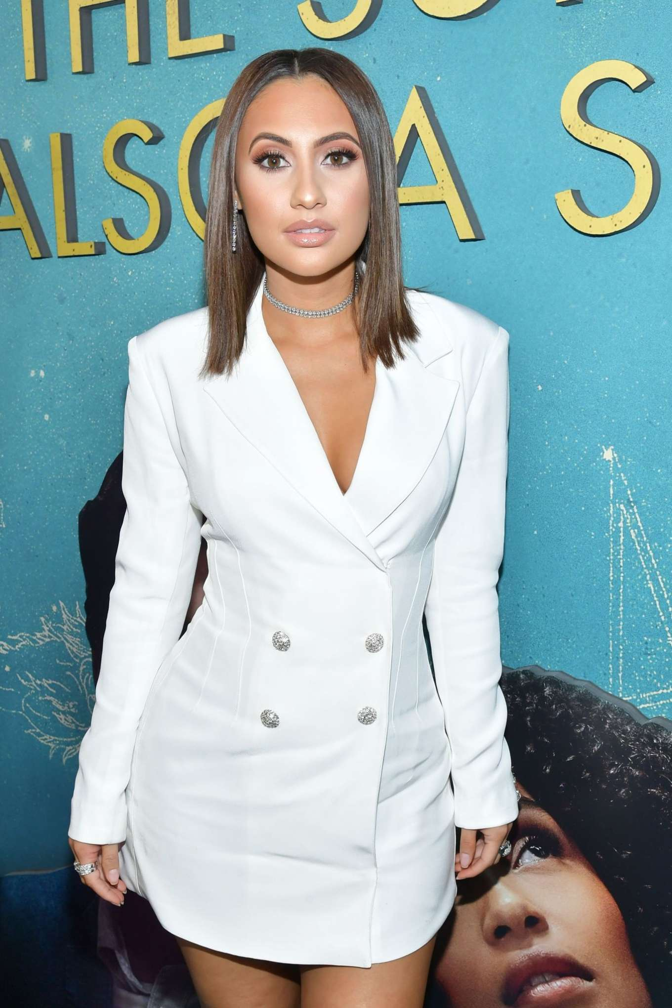 Francia Raisa - 'The Sun is Also A Star' Premiere in Los Angeles