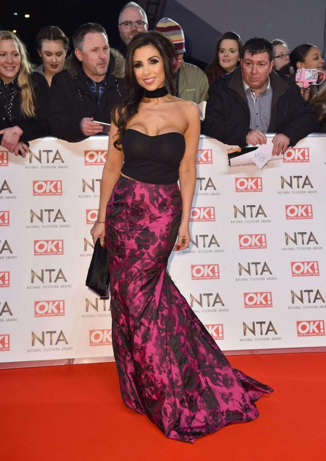 Francine Lewis - 2017 National Television Awards in London