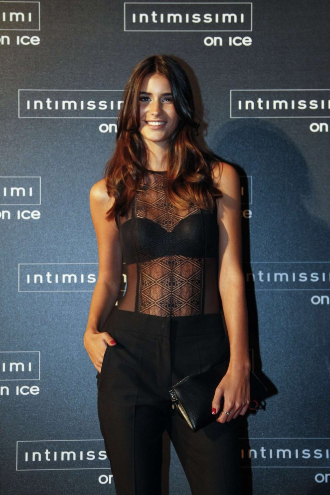 Francisca Perez - Intimissimi On Ice 2015 in Verona