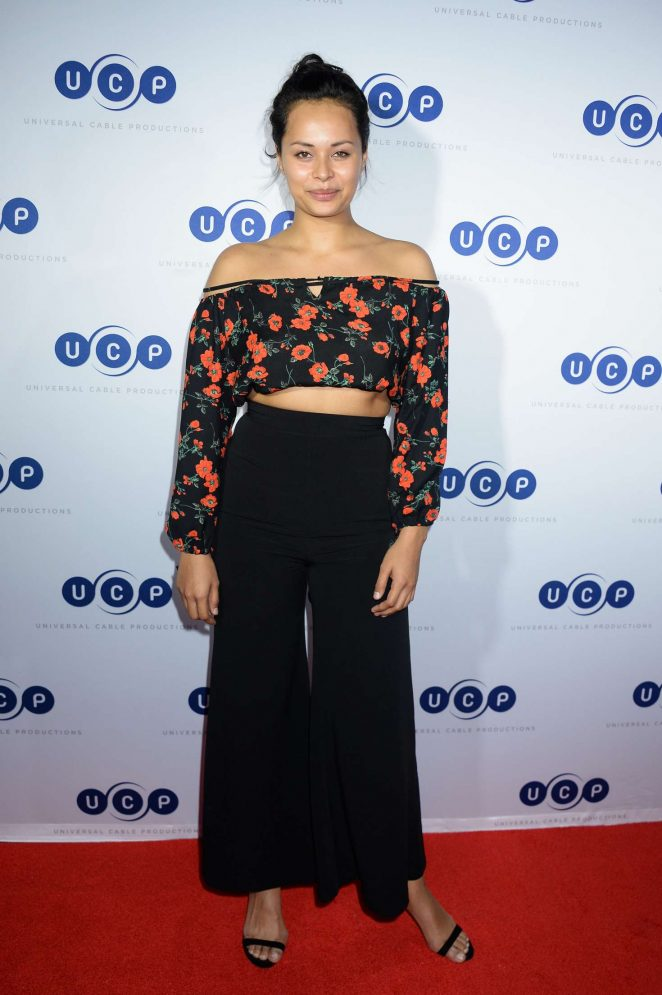 Frankie Adams - Universal Cable Productions at 2017 Comic-Con in San Diego