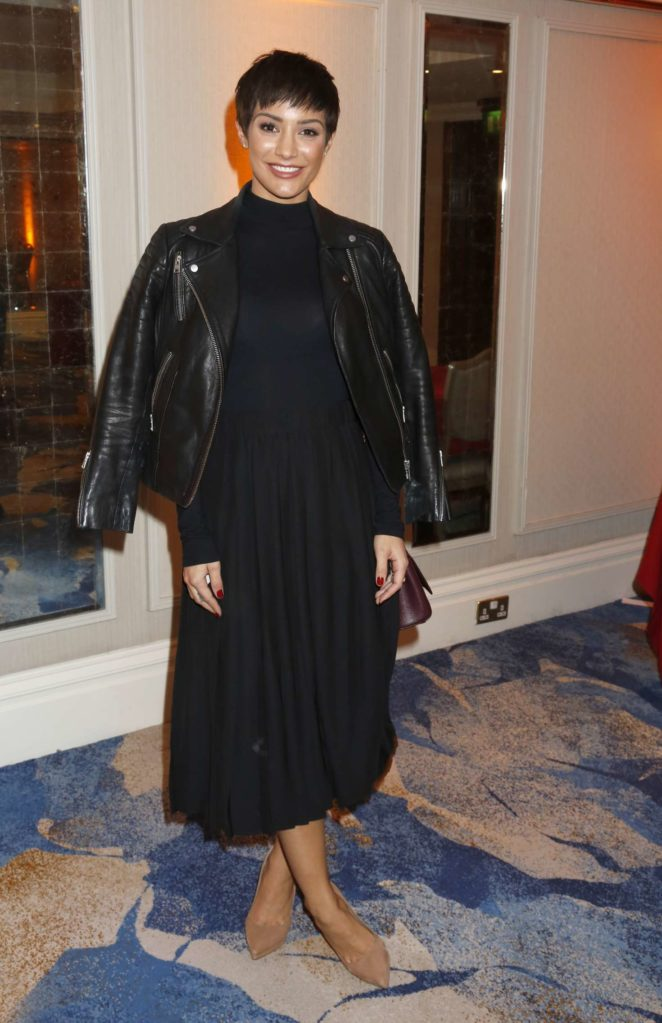 Frankie Bridge - 2017 TRIC Awards Christmas Lunch in London