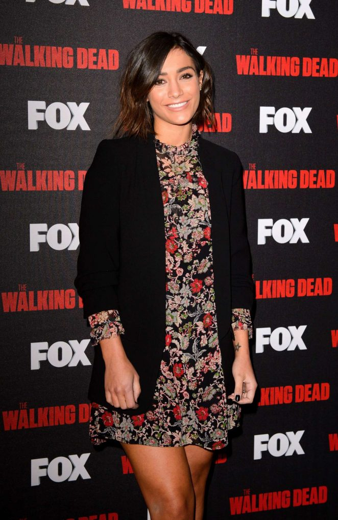 Frankie Bridge - 'A night with The Walking Dead' TV Series Screening in London