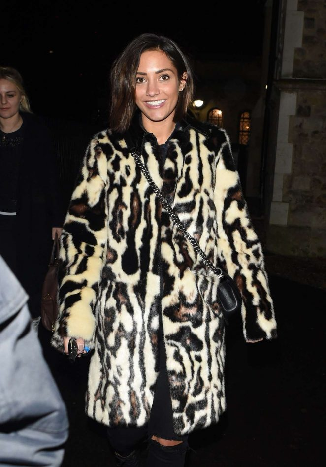 Frankie Bridge - Seen at Una Foden Gig In London