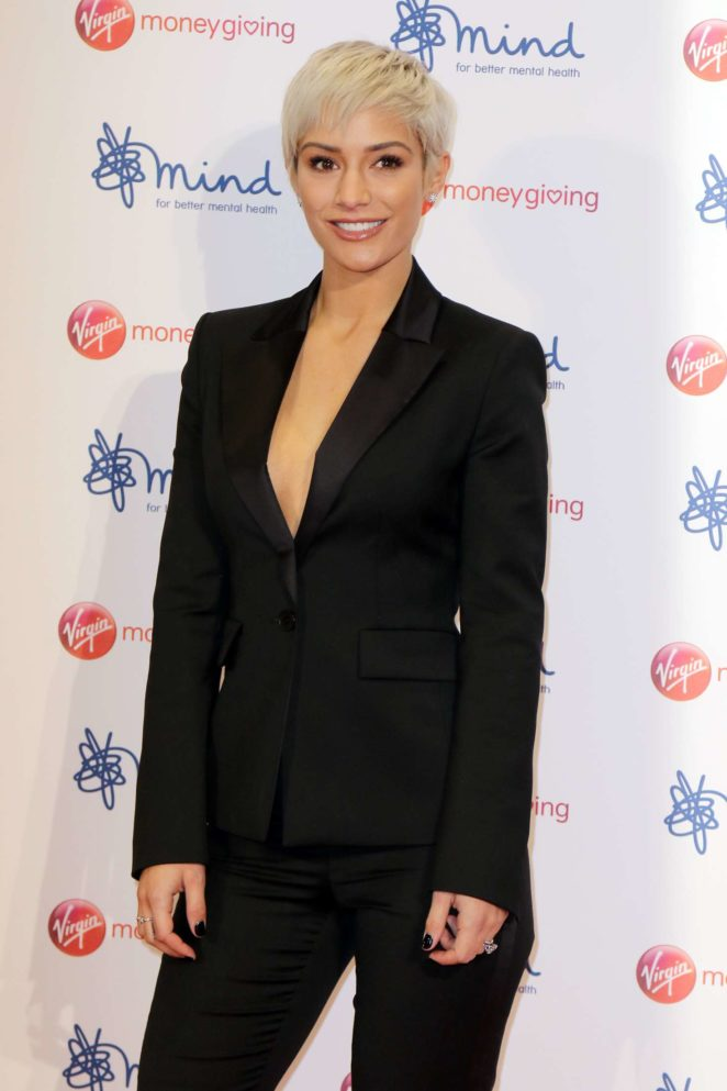 Frankie Bridge - Virgin Money Giving Mind Media Awards 2017 in London