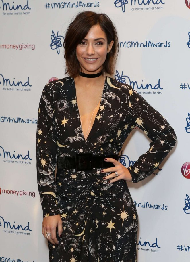 Frankie Bridge - Virgin Money Giving Minds Awards 2016 in London
