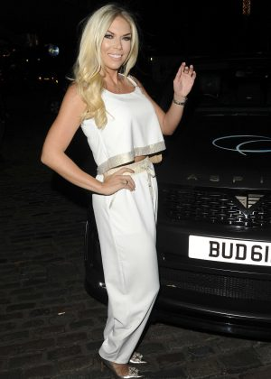 Frankie Essex - Chloe Goodman x Opiah Cosmetics Launch Party in London
