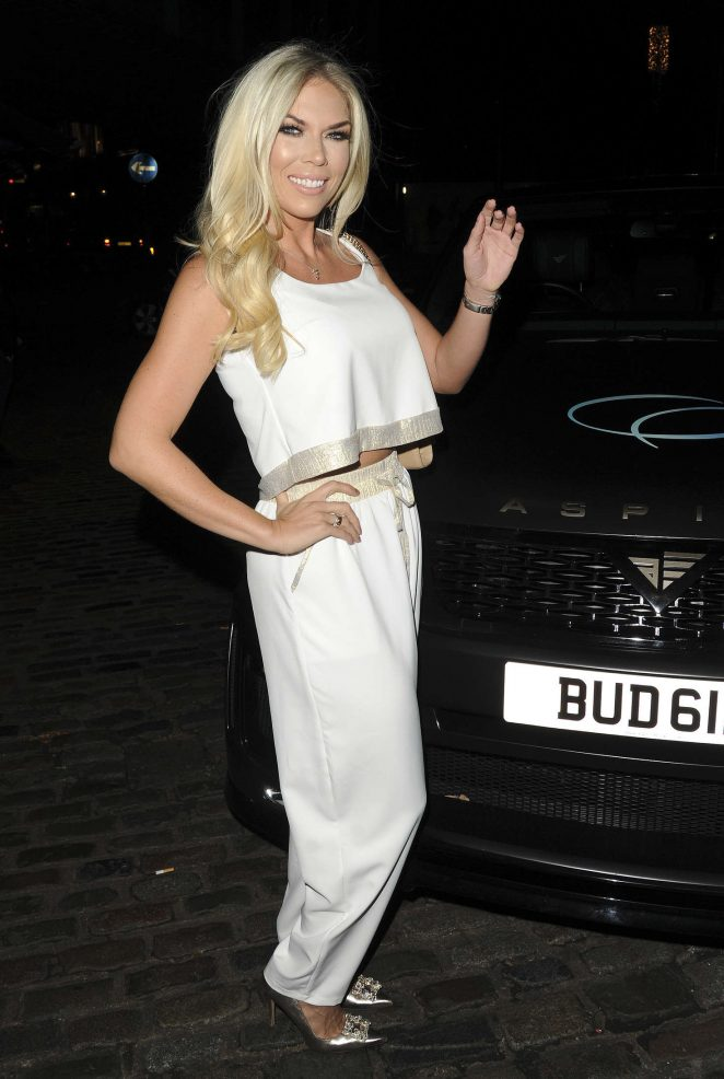 Frankie Essex: Chloe Goodman x Opiah Cosmetics Launch Party -02