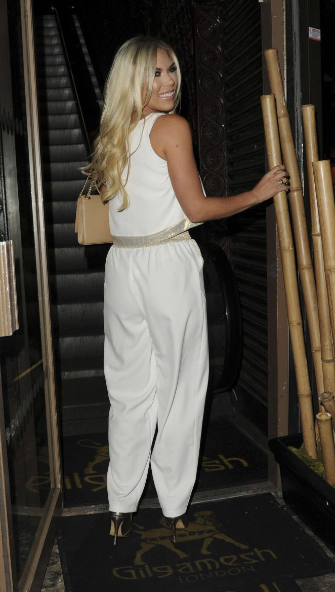 Frankie Essex: Chloe Goodman x Opiah Cosmetics Launch Party -04