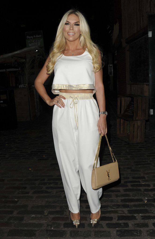 Frankie Essex: Chloe Goodman x Opiah Cosmetics Launch Party -05