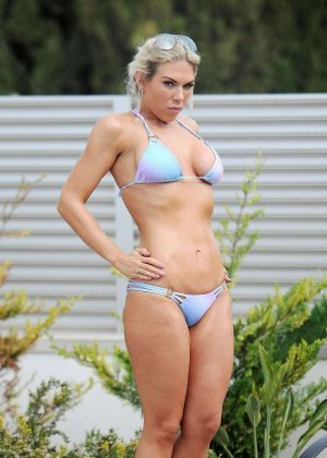 Frankie Essex in a Bikini in Spain