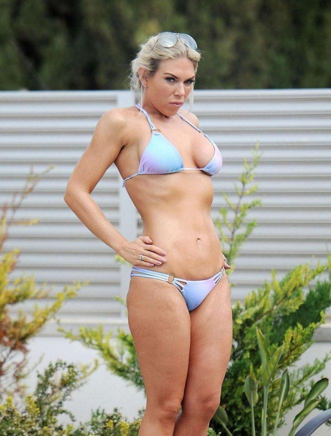 Frankie Essex in a Bikini in Spain