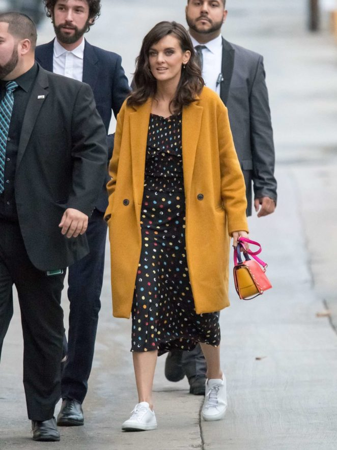 Frankie Shaw - Arriving at Jimmy Kimmel Live! in LA