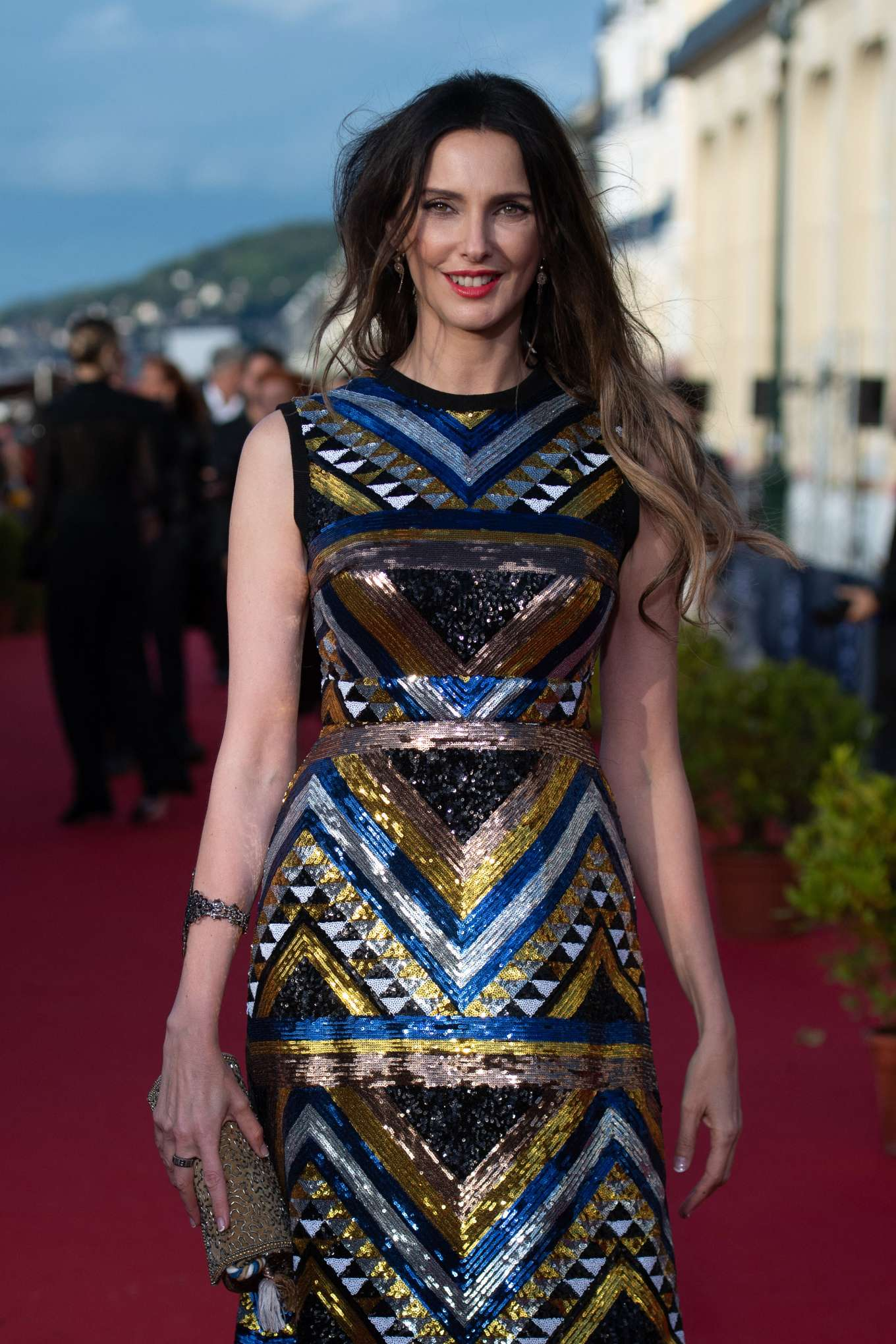 Frederique Bel - 33rd Cabourg Film Festival Day 4 in France