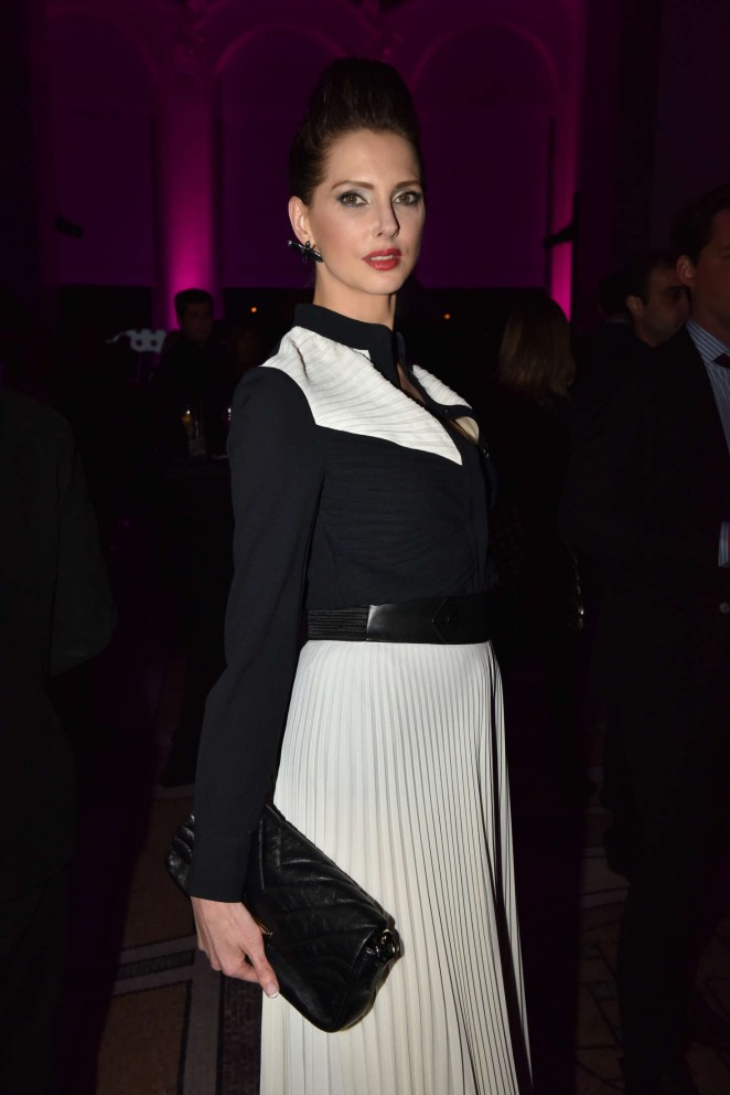 Frederique Bel - 50th Anniversary Of Emanuel Ungaro in Paris