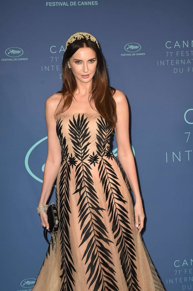 Frederique Bel - Opening Dinner at 2018 Cannes Film Festival