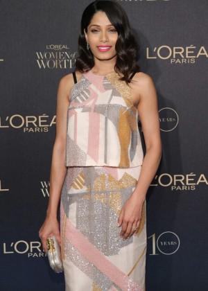 Freida Pinto - L'Oreal Paris 'Women of Worth' Awards 2015 in NY