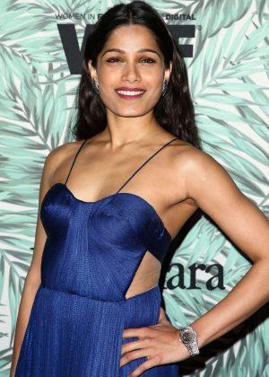 Freida Pinto - 10th Annual Women in Film Pre-Oscar Cocktail Party in LA