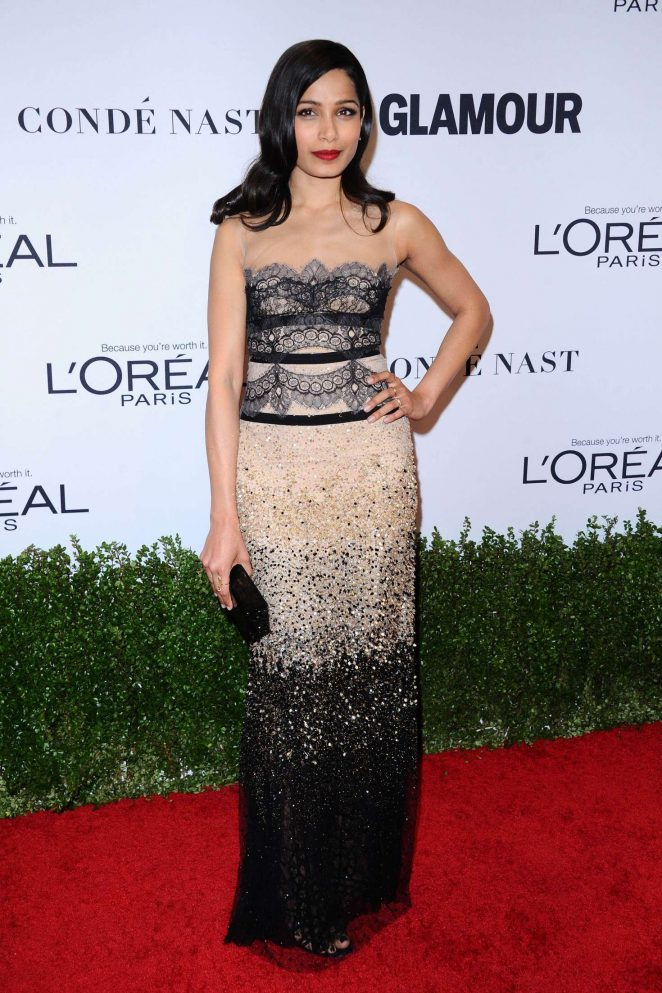 Freida Pinto – 2016 Glamour Women Of The Year in Los Angeles