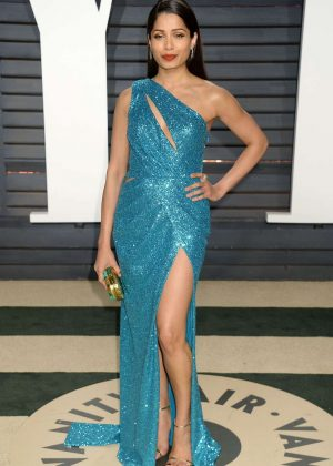 Freida Pinto - 2017 Vanity Fair Oscar Party in Hollywood