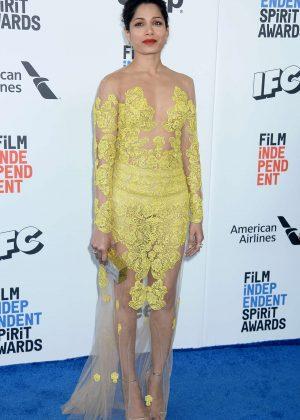 Freida Pinto - 32nd Film Independent Spirit Awards in Santa Monica