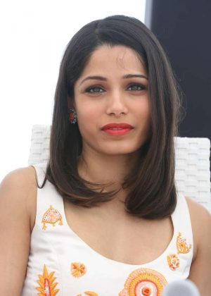 Freida Pinto and Juliette Binoche - 'Together Now' Press Conference i...