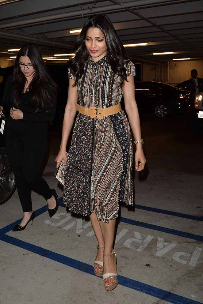 Freida Pinto at The Alice X Olivia Eyewear is Art Event -03