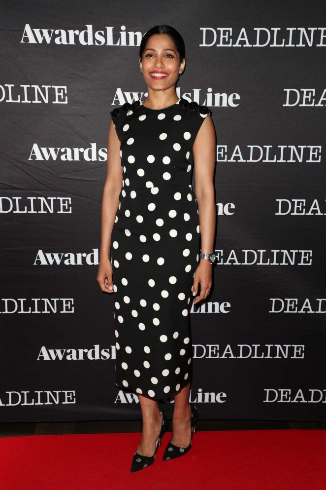 Freida Pinto – Deadline Hollywood Emmy Season Kickoff Party in LA