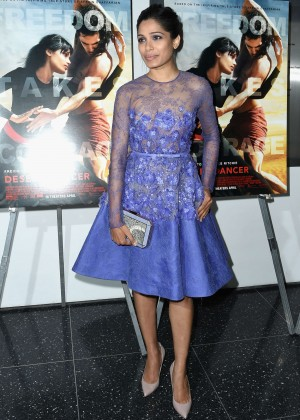 "Freida Pinto - ""Desert Dancer"" Special Screening in NYC"