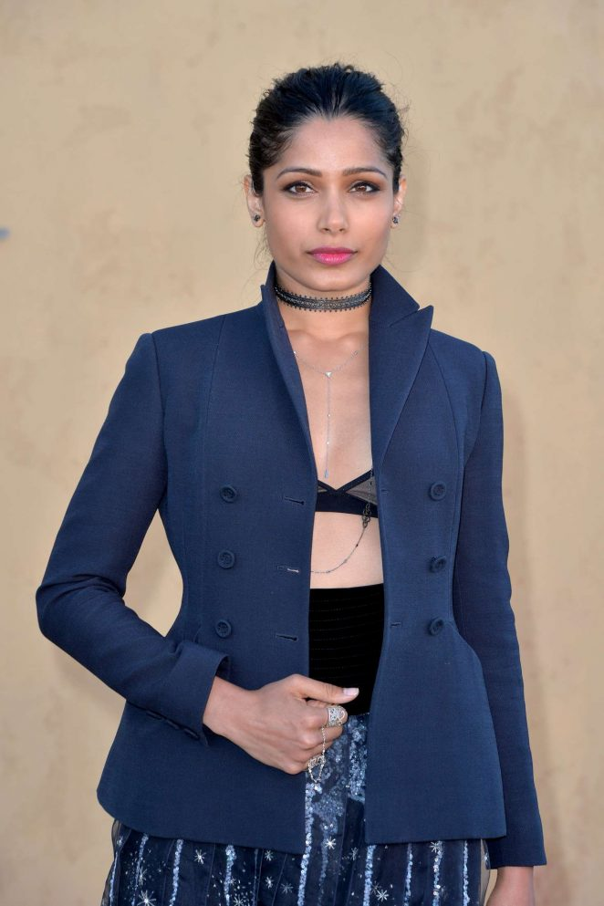 Freida Pinto - Dior Cruise Collection 2018 Show in Los Angeles