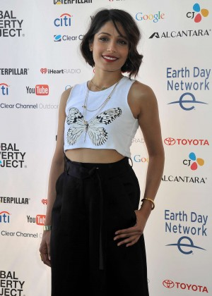 Freida Pinto - Global Citizen 2015 Earth Day in Washington
