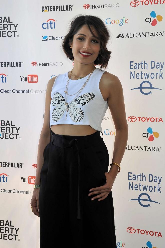 Freida Pinto - Global Citizen 2015 Earth Day in Washington