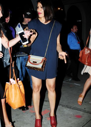 Freida Pinto in Mini Dress -08