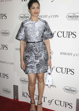 Freida Pinto - 'Knight of Cups' Premiere in Los Angeles