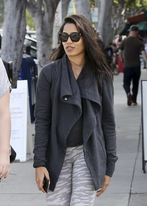 Freida Pinto out in Los Angeles