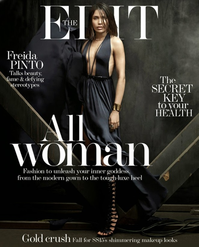 Freida Pinto - The Edit Magazine (April 2015)