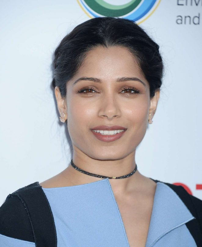 Freida Pinto – UCLA Institute of the Environment and Sustainability Innovators for a Healthy Planet Celebration in LA