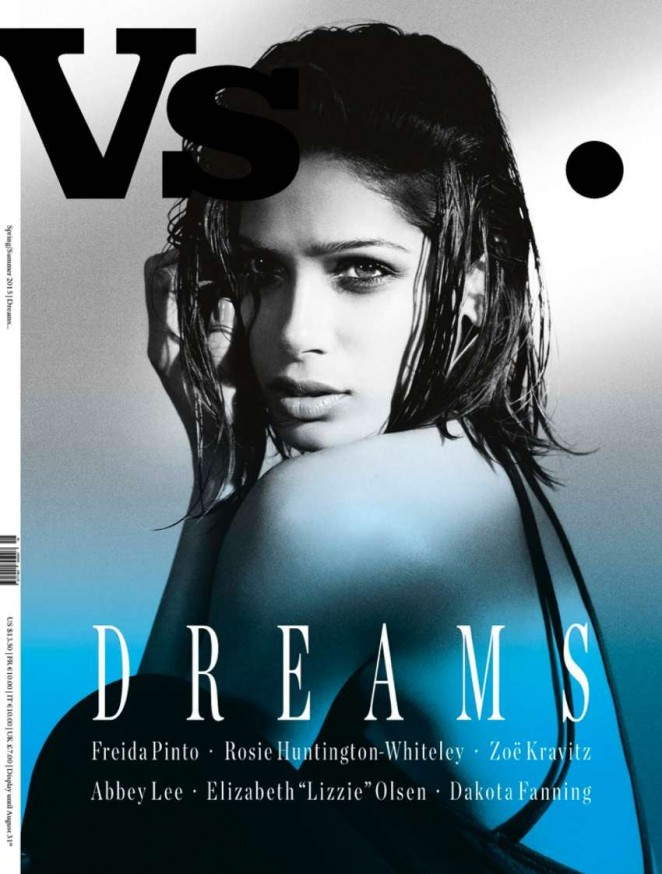 Freida Pinto - Vs. Magazine Cover (Spring/Summer 2015)