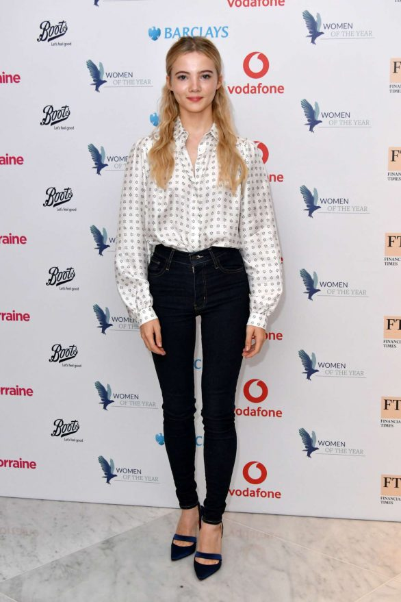 Freya Allan - Women of the Year Lunch and Awards 2019 in London