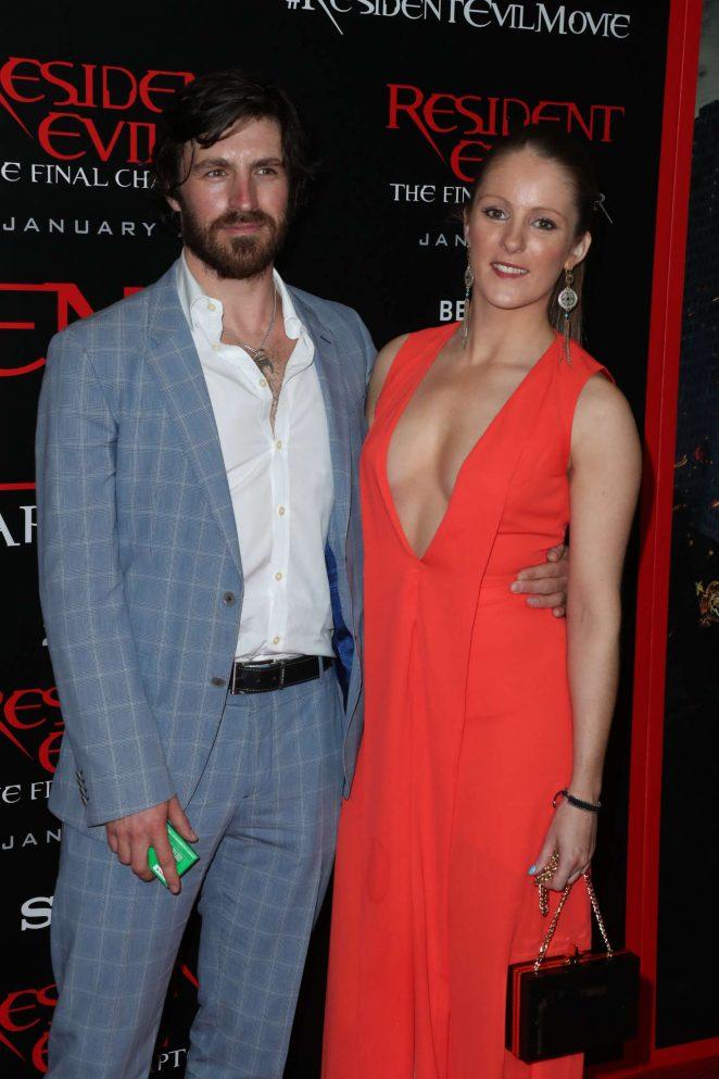 Freya Macken - 'Resident Evil: The Final Chapter' Premiere in Los Angeles