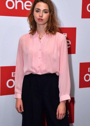 Freya Mavor - 'The ABC Murders' TV Show Screening in London