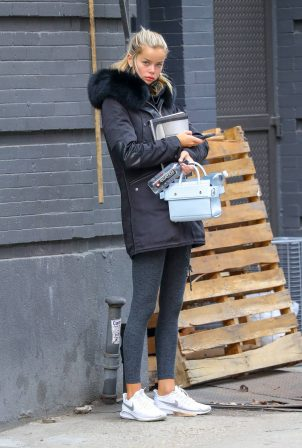 Frida Aasen - Seen leaving the DOGPOUND in New York